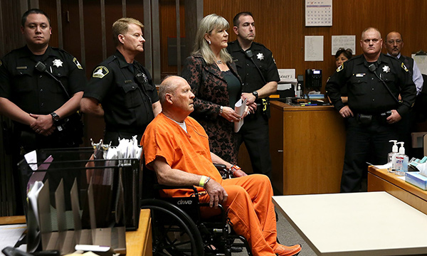 Joseph DeAngelo in Court